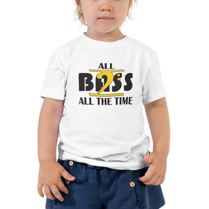 ALL BASS ALL THE TIME Toddler Short Sleeve Tee - Lathon Bass Wear