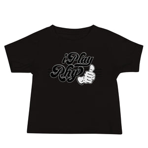 I PLAY RHYTHUMB Baby Jersey Short Sleeve Tee - Lathon Bass Wear