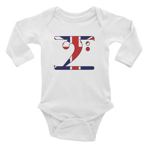 UK LBW Infant Long Sleeve Bodysuit - Lathon Bass Wear