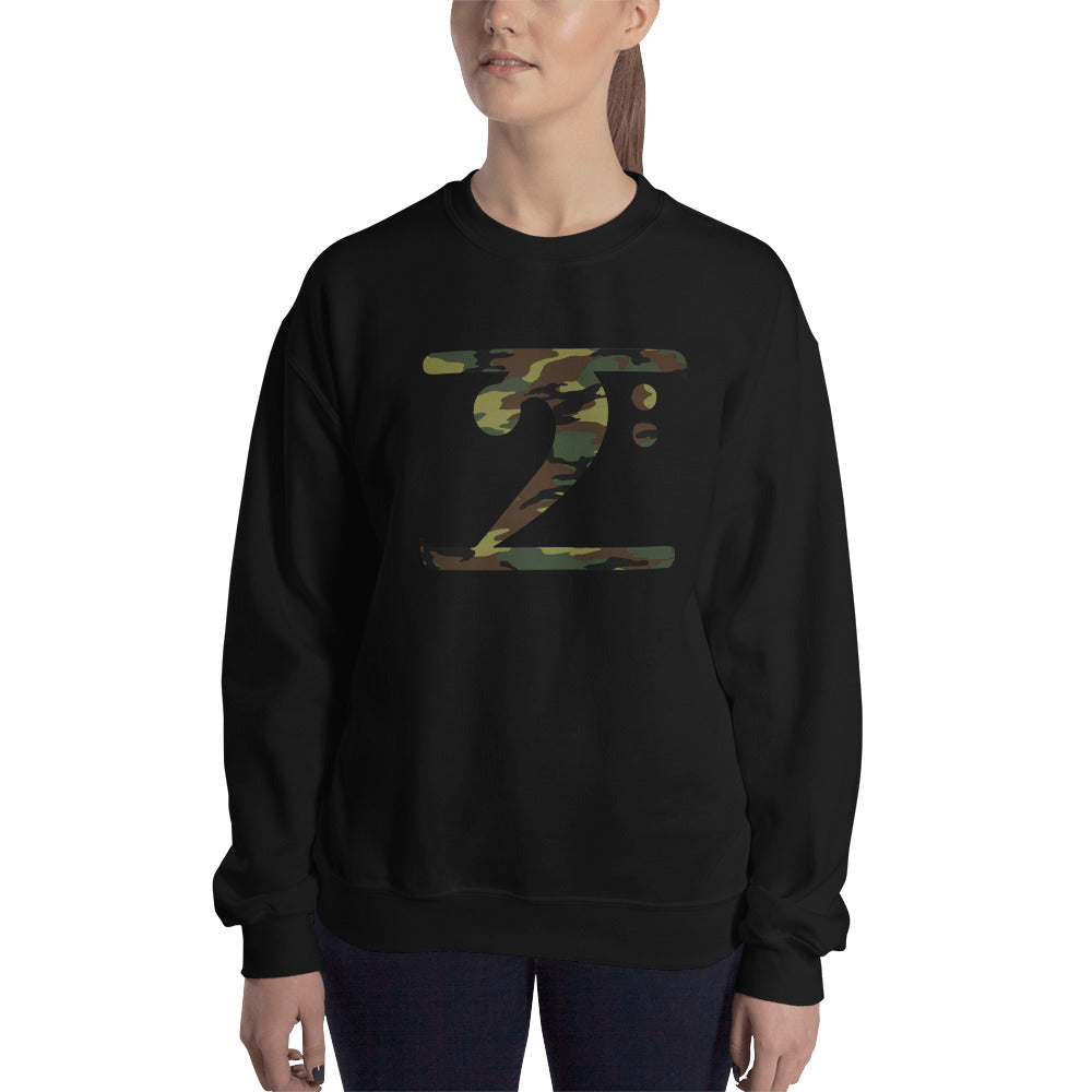 CAMO LOGO Sweatshirt - Lathon Bass Wear