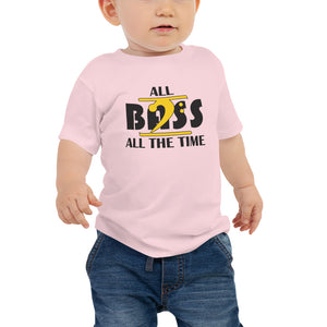 ALL BASS ALL THE TIME Baby Jersey Short Sleeve Tee - Lathon Bass Wear