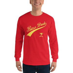 BASS DUDE w/TAIL Long Sleeve T-Shirt - Lathon Bass Wear