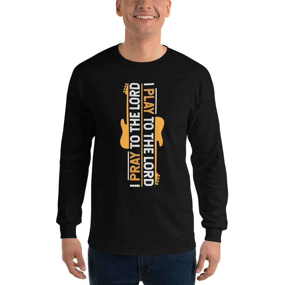 I PLAY TO THE LORD - GOLD Long Sleeve T-Shirt