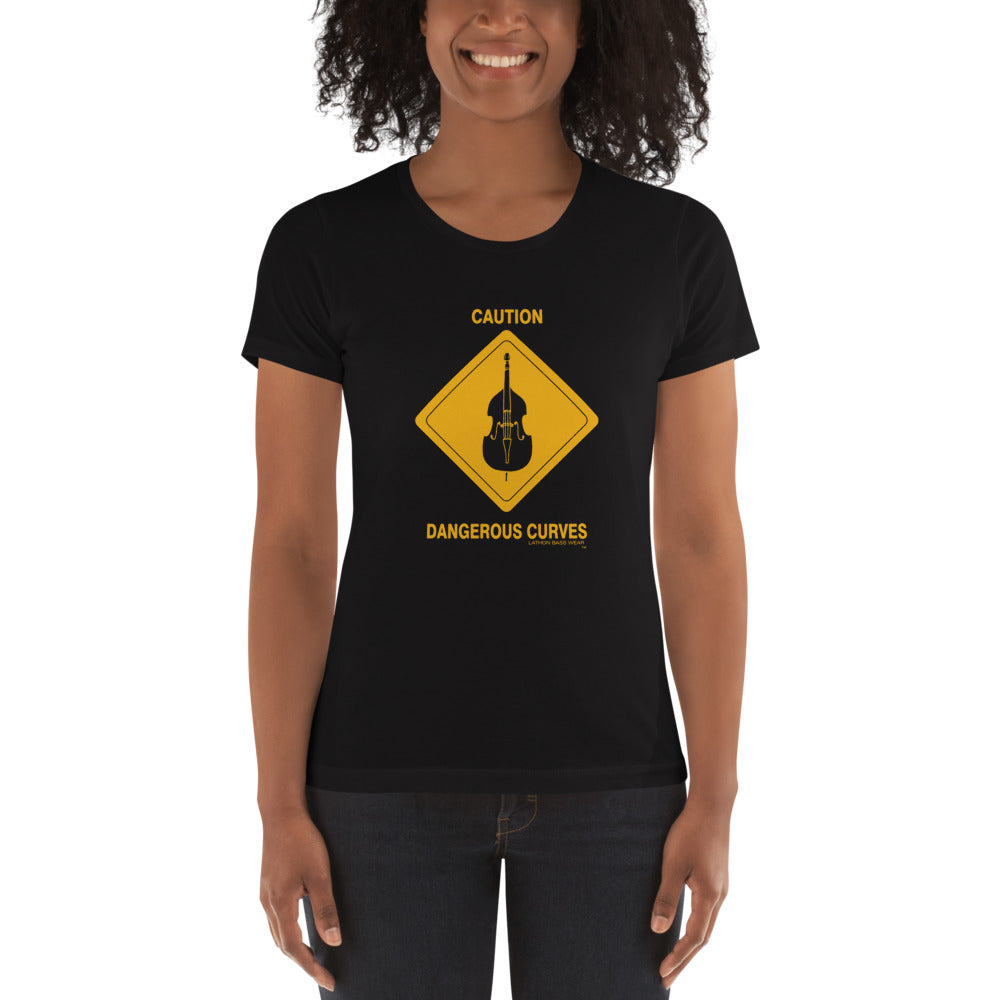 CAUTION Women's t-shirt - Lathon Bass Wear