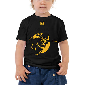 NINJA LATHON STYLE Toddler Short Sleeve Tee - Lathon Bass Wear
