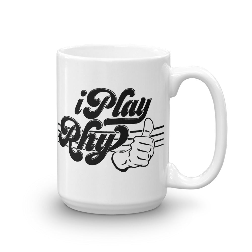 I PLAY RHYTHUMB Mug - Lathon Bass Wear
