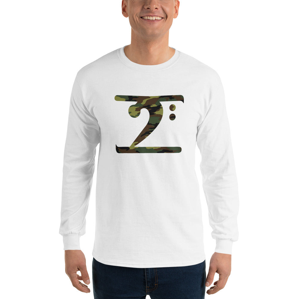 CAMO LOGO Long Sleeve T-Shirt - Lathon Bass Wear