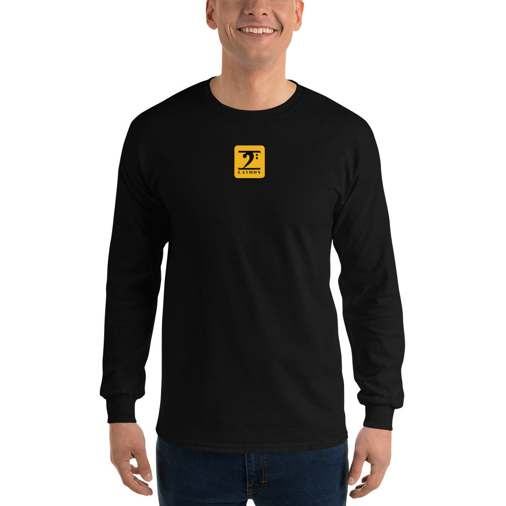 LATHON CENTER LOGO Long Sleeve T-Shirt - Lathon Bass Wear