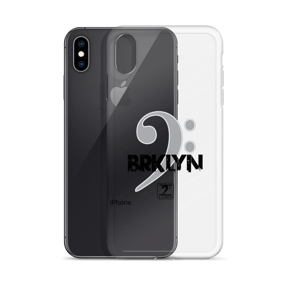 BROOKLYN CLEF iPhone Case - Lathon Bass Wear