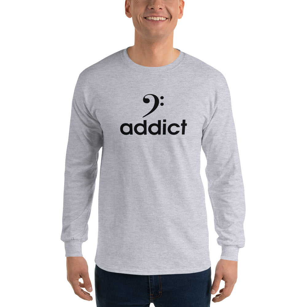 BASS ADDICT Long Sleeve T-Shirt - Lathon Bass Wear