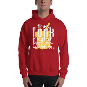 THIS FUNK RIGHT HERE - UPRIGHT Hooded Sweatshirt - Lathon Bass Wear