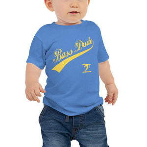 BASS DUDE w/TAIL Baby Jersey Short Sleeve Tee - Lathon Bass Wear
