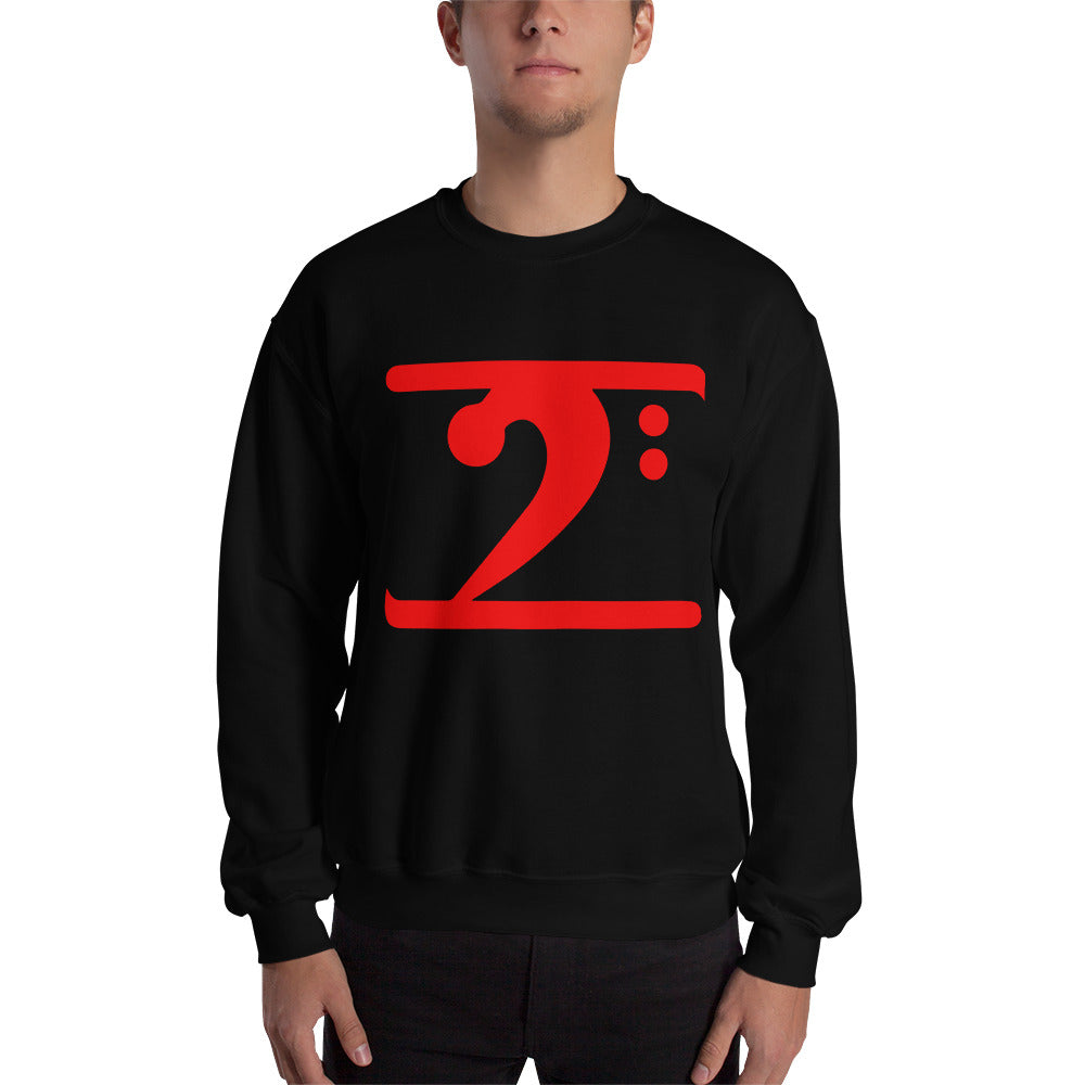 RED LOGO Sweatshirt - Lathon Bass Wear