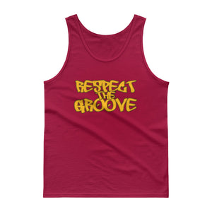 RESPECT THE GROOVE Tank Top - Lathon Bass Wear