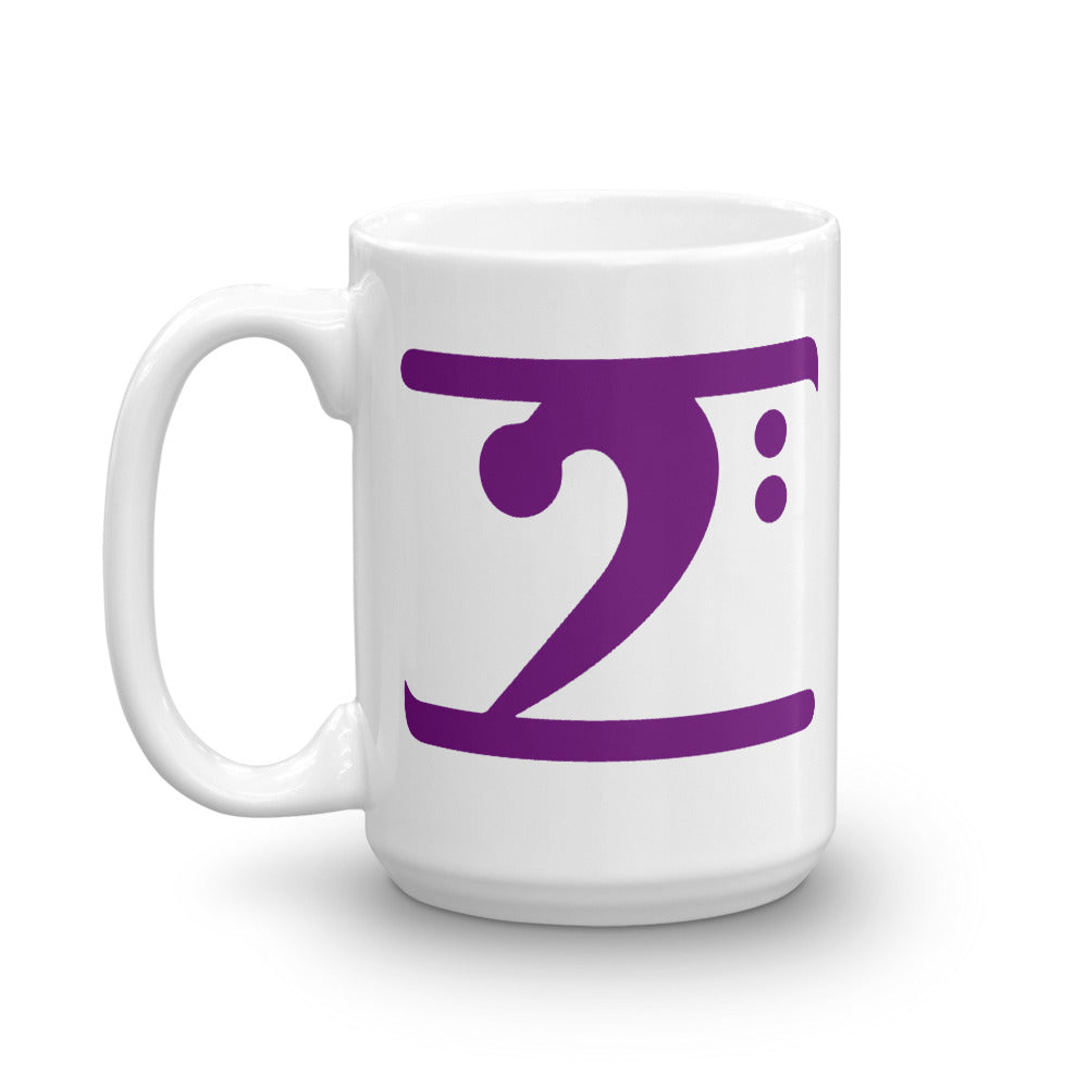 PURPLE LOGO Mug - Lathon Bass Wear