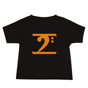 ORANGE LOGO Baby Jersey Short Sleeve Tee