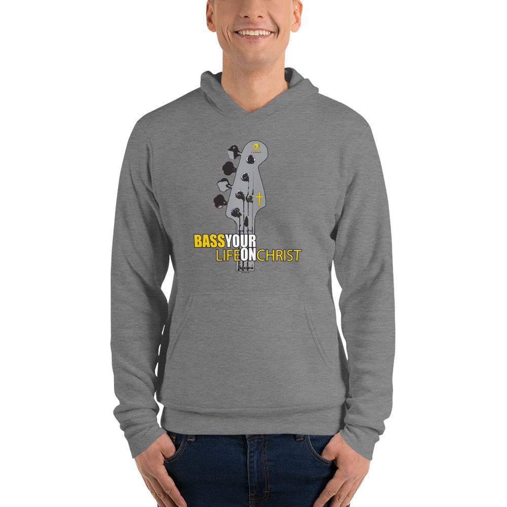 BASS YOUR LIFE ON CHRIST Unisex hoodie - Lathon Bass Wear