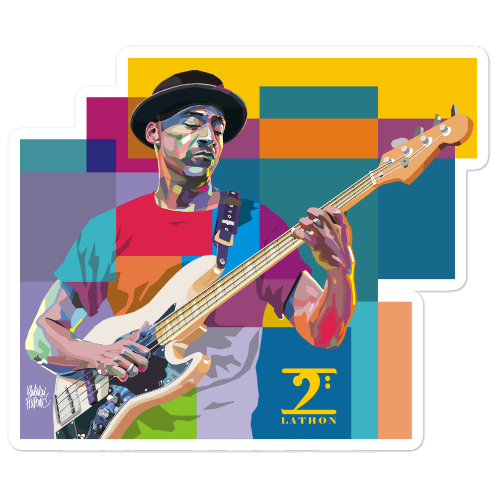 MARCUS MILLER - LEGENDS Bubble-free stickers