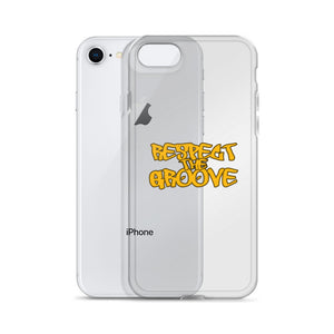 RESPECT THE GROOVE iPhone Case - Lathon Bass Wear