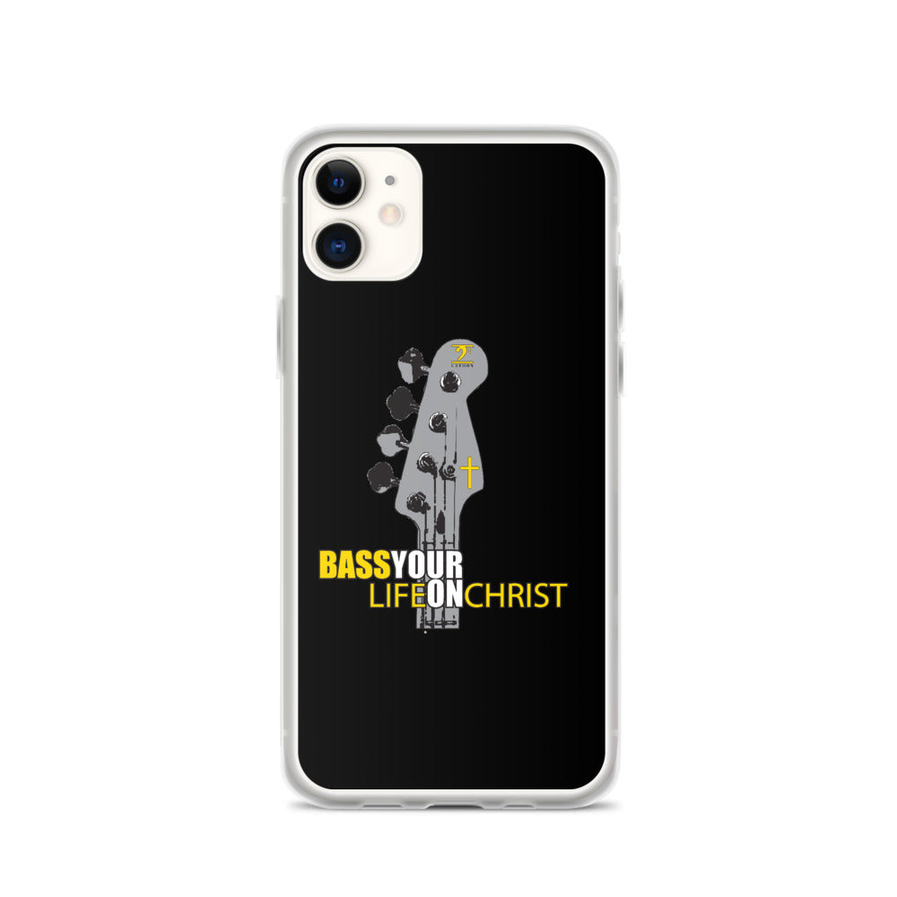 Bass your Life on Christ iPhone Case - Lathon Bass Wear