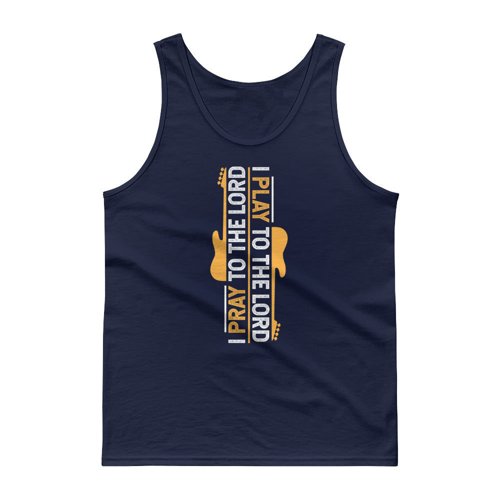 I PLAY TO THE LORD Tank Top - Lathon Bass Wear