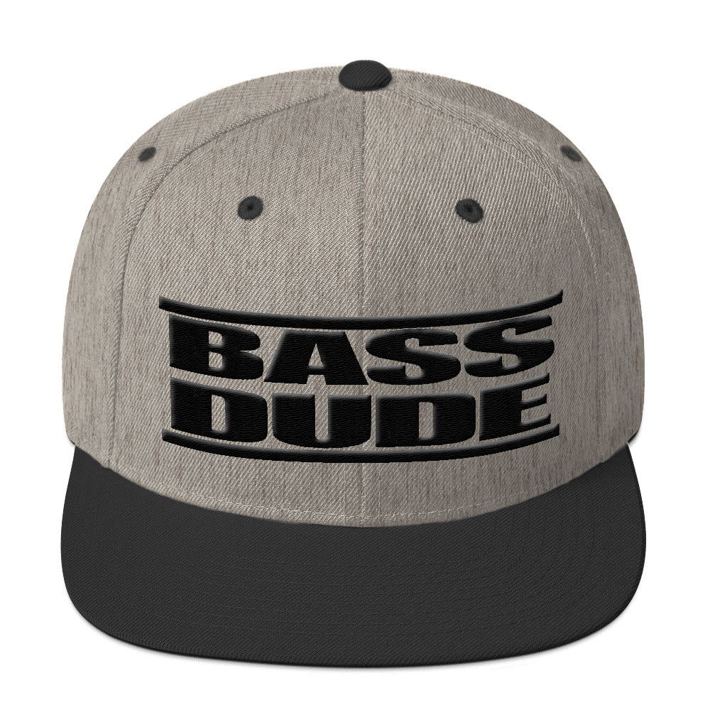 Bass Dude MLD Snapback Hat - Lathon Bass Wear