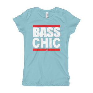 BASS CHIC Girl's T-Shirt - Lathon Bass Wear