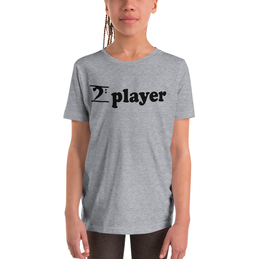 PLAYER Youth Short Sleeve T-Shirt - Lathon Bass Wear