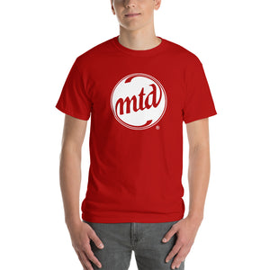 MTD WHITE FILLED LOGO Short Sleeve T-Shirt