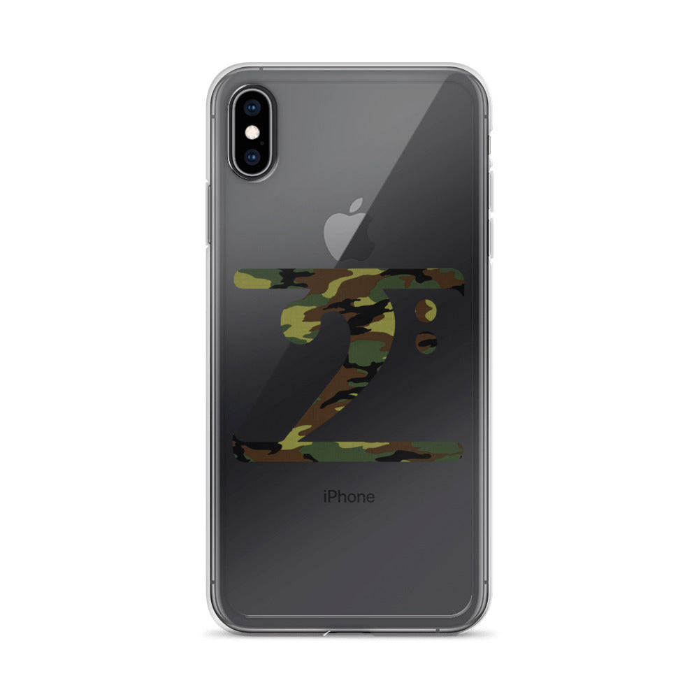 CAMO LOGO iPhone Case - Lathon Bass Wear