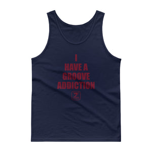 I HAVE A GROOVE ADDICTION - MAROON Tank Top - Lathon Bass Wear