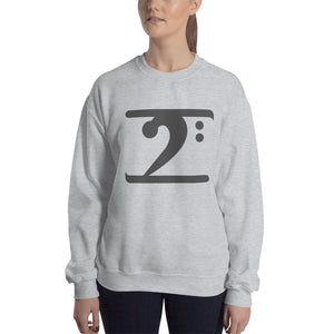 DARK GREY LOGO Sweatshirt - Lathon Bass Wear