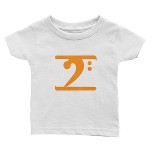 ORANGE LOGO Infant Tee - Lathon Bass Wear