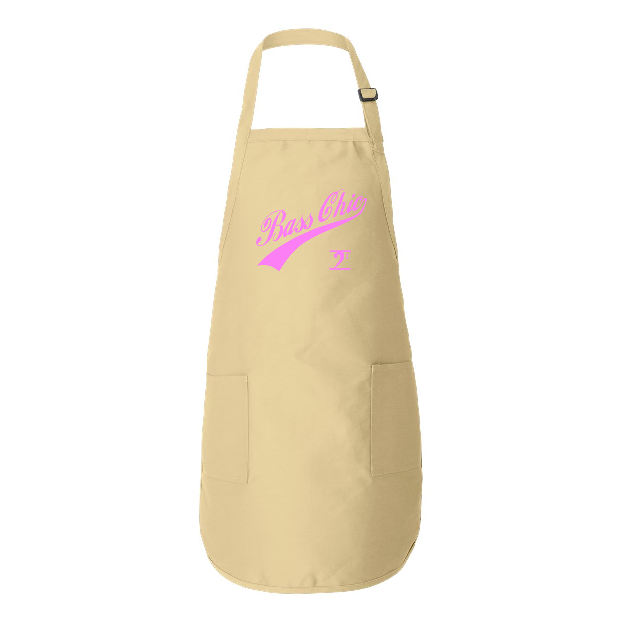 BASS CHIC w/TAIL Full-Length Apron with Pockets - Lathon Bass Wear