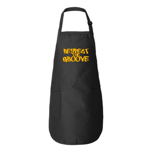 RESPECT THE GROOVE Full-Length Apron with Pockets - Lathon Bass Wear