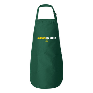 FUNK IS LIFE Full-Length Apron with Pockets - Lathon Bass Wear