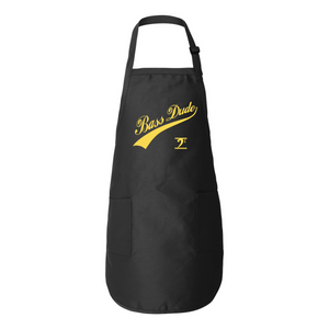 BASS DUDE w/TAIL Full-Length Apron with Pockets - Lathon Bass Wear
