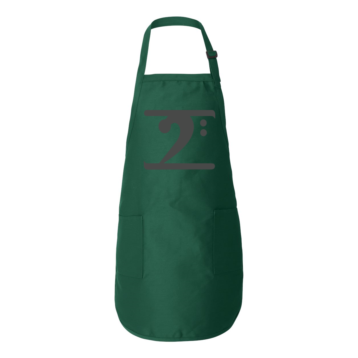 BLACK LOGO Full-Length Apron with Pockets - Lathon Bass Wear