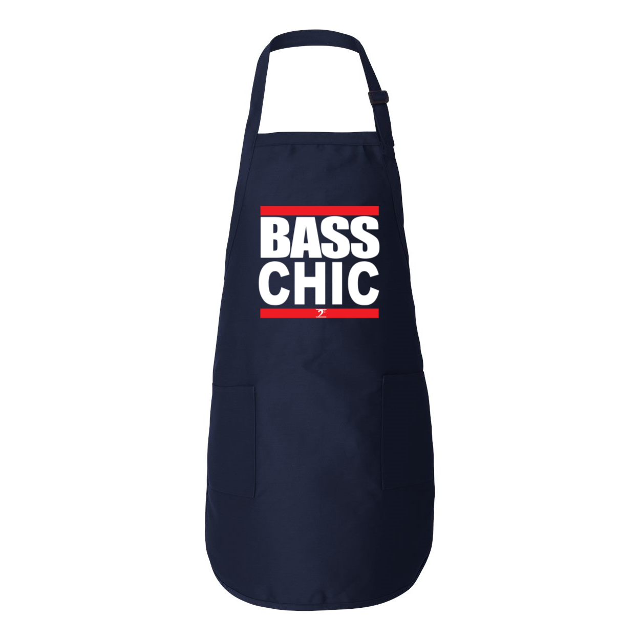 BASS CHIC Full-Length Apron with Pockets - Lathon Bass Wear