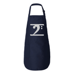 SILVER LOGO Full-Length Apron with Pockets - Lathon Bass Wear