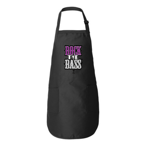 ROCK THE BASS- BASS CHIC Full-Length Apron with Pockets - Lathon Bass Wear