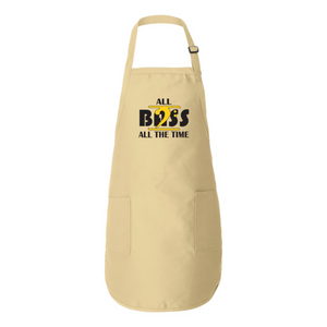 ALL BASS ALL THE TIME Full-Length Apron with Pockets - Lathon Bass Wear