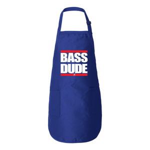 BASS DUDE Full-Length Apron with Pockets - Lathon Bass Wear