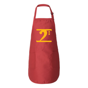GOLD LOGO Full-Length Apron with Pockets - Lathon Bass Wear