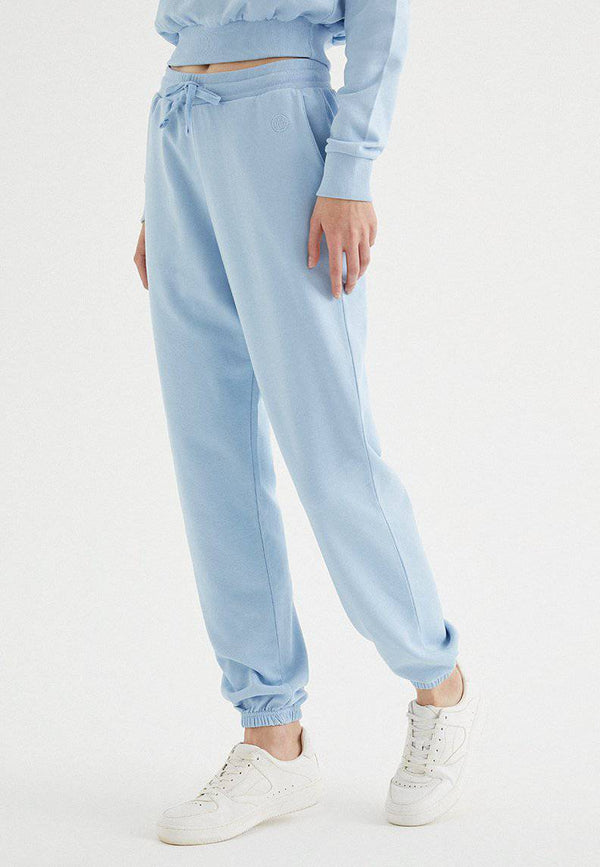 ENJOY CUFFED JOGGER in Powder Blue - Sweatpant - Westmark London EU(TR) Store Organik Pamuklu Sürdürülebilir Moda