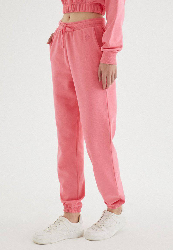 ENJOY CUFFED JOGGER in Pink Lemonade