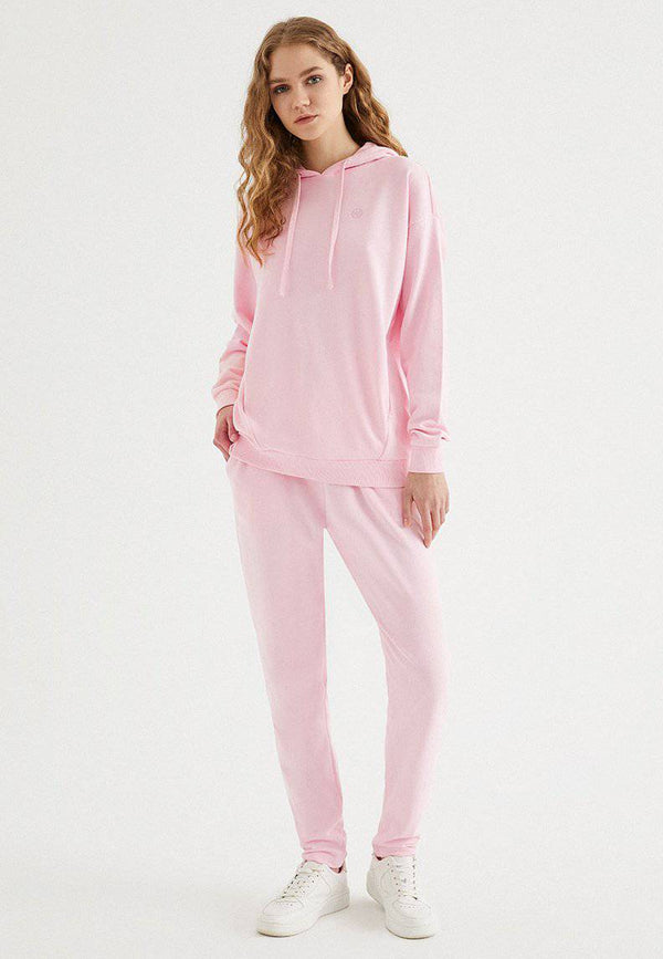 ENJOY OVERSIZE HOODIE w/POCKET in Rose Shadow - Sweatshirt - Westmark London EU(TR) Store Organik Pamuklu Sürdürülebilir Moda
