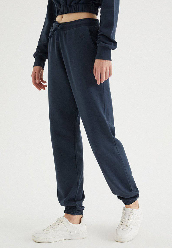 ENJOY CUFFED JOGGER in Blue Nights - Sweatpant - Westmark London EU(TR) Store Organik Pamuklu Sürdürülebilir Moda