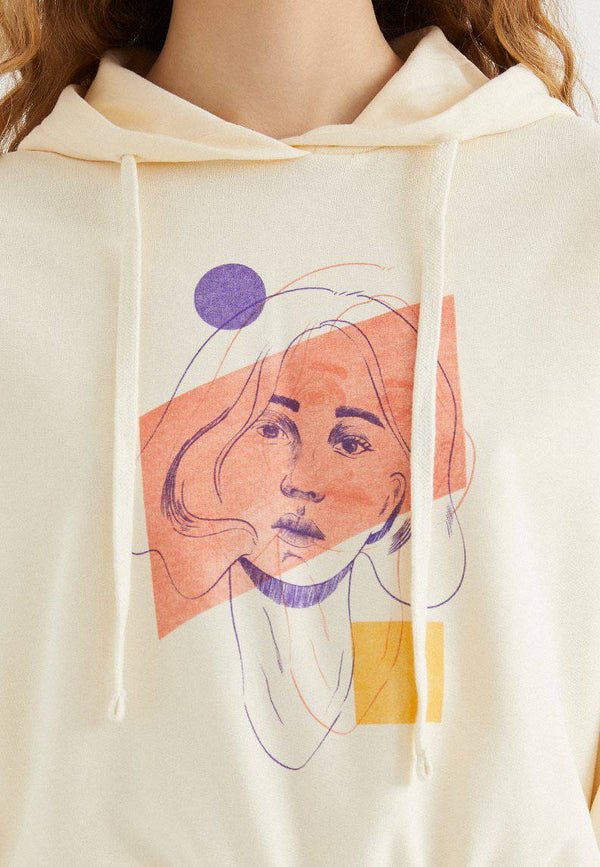 ABSTRACT PORTRAIT HOODIE