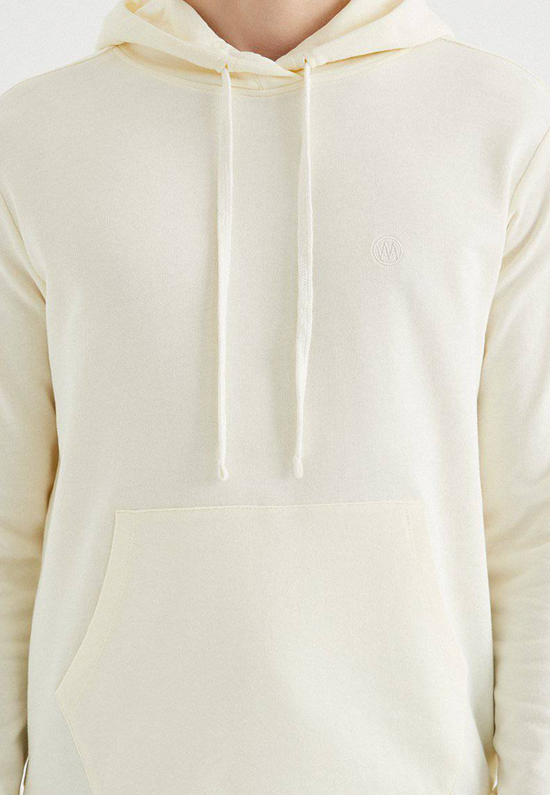 CORE HOODIE w/POCKET in Vanilla Ice